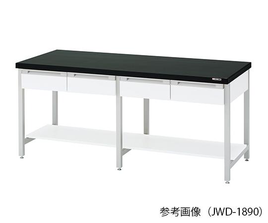作業台 (スチール製・両面引出し付き) 1800×900×800mm JWD-1890