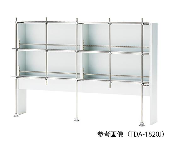 試薬棚 (片面型・ジャングル付き) 1500×310×1000mm TDA-1520J