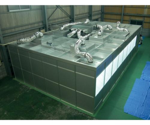 アルミパネル式クリーンブース 2000×2000×2400mm AD-202024