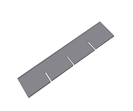 薬品コンテナーBC-2Y用タテ仕切 1枚 仕切板