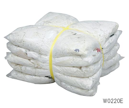 白メリヤスウエス (エコノミー) 白 1セット(2kg×5袋入)