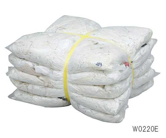 白メリヤスウエス(エコノミー) 2kg×5袋入 W0220E