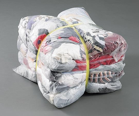 エコノミーウエス(油専用ウエス) 雑色 1セット(2kg×5袋入) W0272