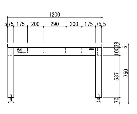 天秤台 WSC-1275