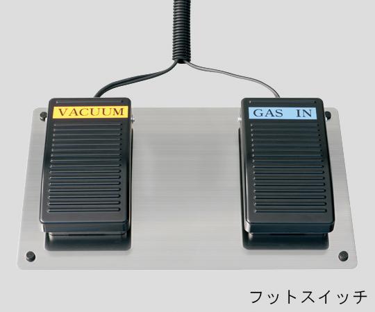 ステンレス製真空グローブボックス 650×500×450mm UVS-065
