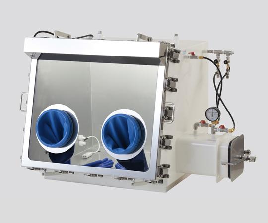 ガス置換型ステンレスグローブボックス 650×650×725mm UAS-065