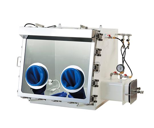 ガス置換型ステンレスグローブボックス 800×650×725mm ECA-080