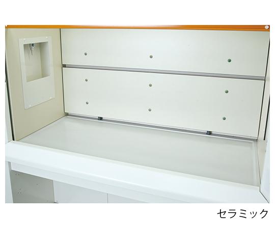 ヒュームフード スタンダード (折れ扉付きタイプ・セラミック天板) 1800×830×2250 mm ABSI-1800C