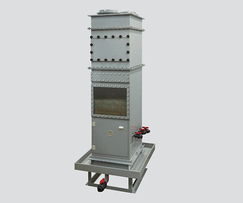 ハイブリッドスクラバー 外置きタイプ 60m3/min 1700×1100×2800