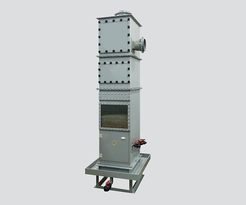 ハイブリッドスクラバー 外置きタイプ 40m3/min 2450×850/1050×2800mm GSUCF-40
