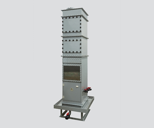 ハイブリッドスクラバー 外置きタイプ 40m3/min 1350×850×3400