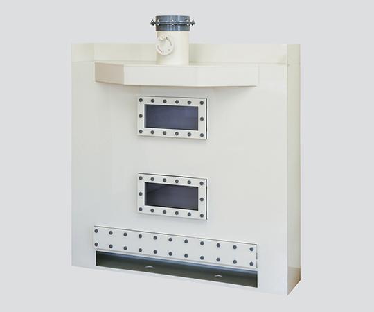 乾式スクラバー ヒュームフード背面タイプ 16m3/min 1500×1000×2356mm BSN-150