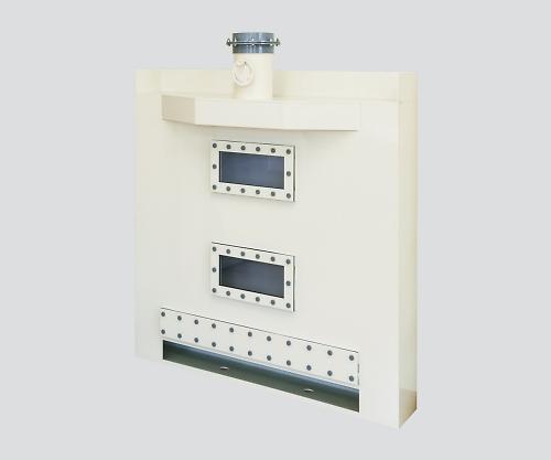 [取扱停止]ドラフトチャンバー 乾式スクラバー背面組込タイプ 1500×1000×2100mm SVK-150