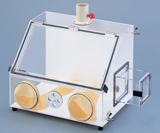 グローブボックス (排気ダクト付き) 762×450×583mm AS-600PE