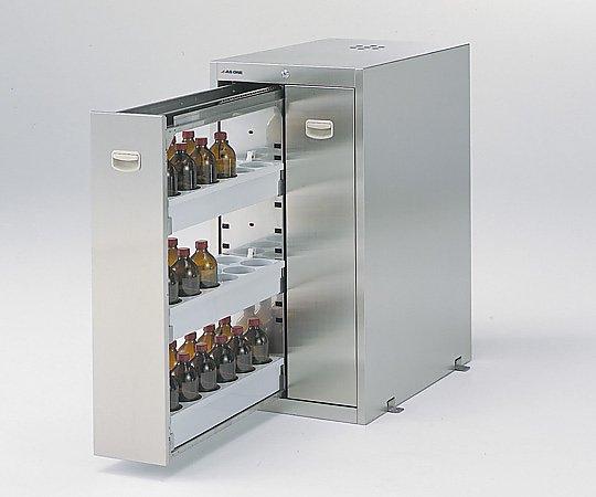 耐震ステンレス薬品庫