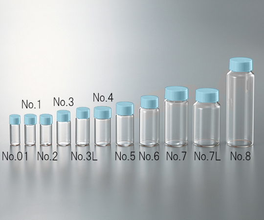 CC Screw Tube Transparent Blue Cap 3.5mL and others