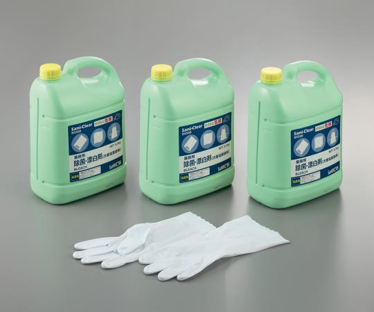 業務用除菌漂白剤 Sani-Clear (サニクリア) 5.5kg×3本入 B5500 3本セット