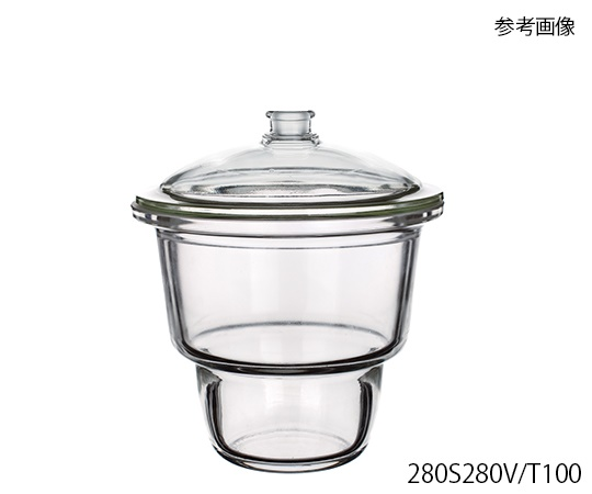 [Discontinued]Upper Mouth Desiccator (With Valve) φ153 x 177 and others