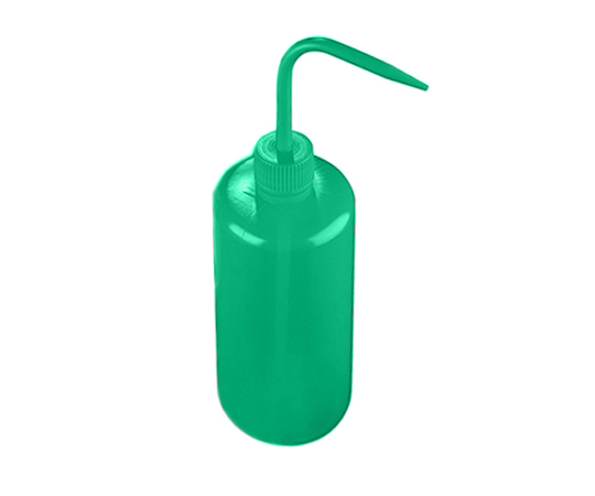 Color Identification Narrow-Mouth Washing Bottle (Azlon) Green and others