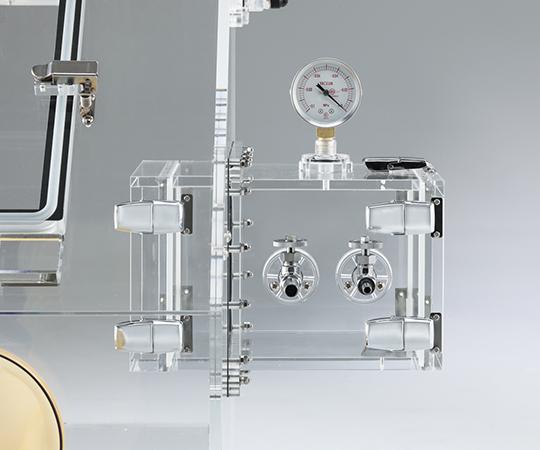 エアタイトグローブBOX(庫内圧力制御付) コンセント付き  600PCRM-01PC