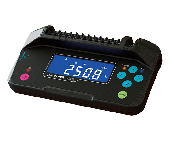 12 CH Data Logger, Main Unit, Temperature, Voltage and Humidity Measurement 167 x 91 x 35.8mm ADL12