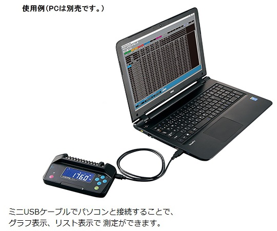 12CHデータロガー本体 温度・電圧・湿度測定 167×91×35.8mm ADL12