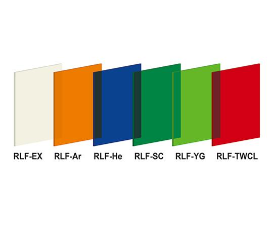 レーザ用遮光フィルタ RLF-He 100X100X3t