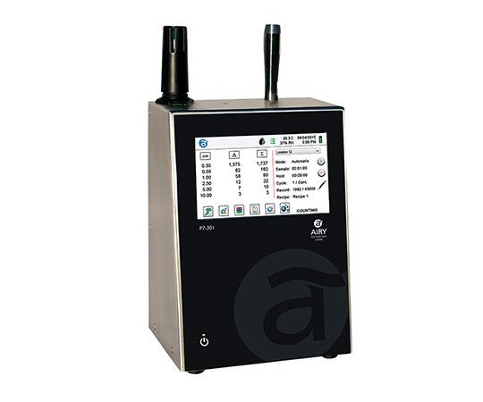 [取扱停止]高機能小型パーティクルカウンター 温湿度センサー無  P7-501