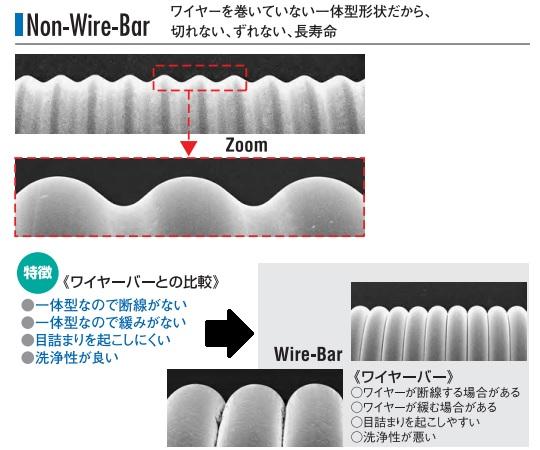 ノンワイヤーバーコーター Φ10×250mm(#10番手) OSP-25-L250