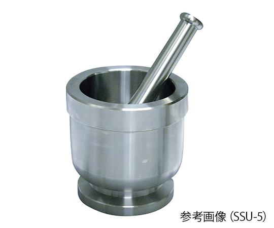 ステンレス乳鉢(深型)内寸Φ80×73mm SSU-3