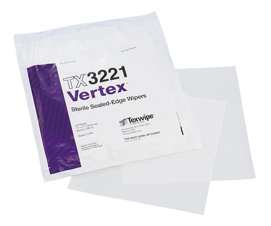 滅菌バーテックスワイパー Sterile Vertex® 280×280mm 100枚入  TX3221