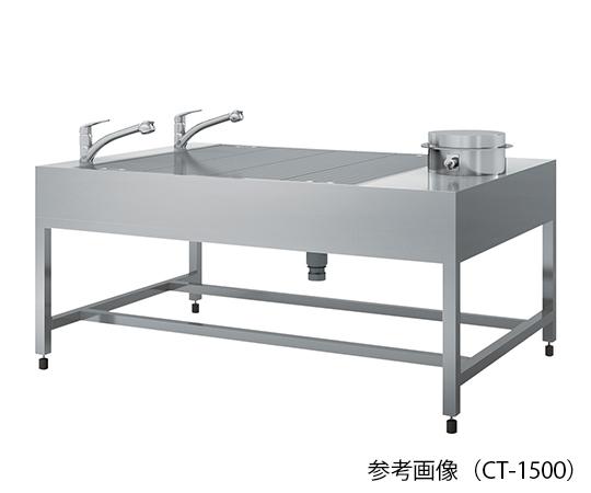 プル式切出テーブル (対面型) 1800×1000×800mm CT-1800