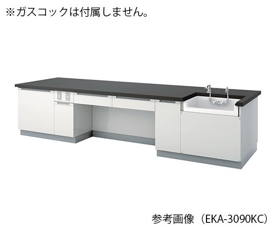 教師用実験台 3000×900×800 mm EKA-3090KC