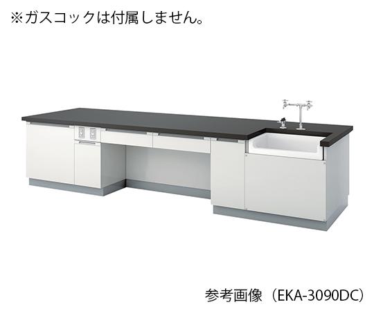 教師用実験台 3000×900×800 mm EKA-3090DC