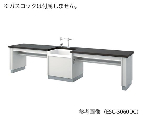 生徒用実験台 3600×600×700 mm ESC-3660DCL