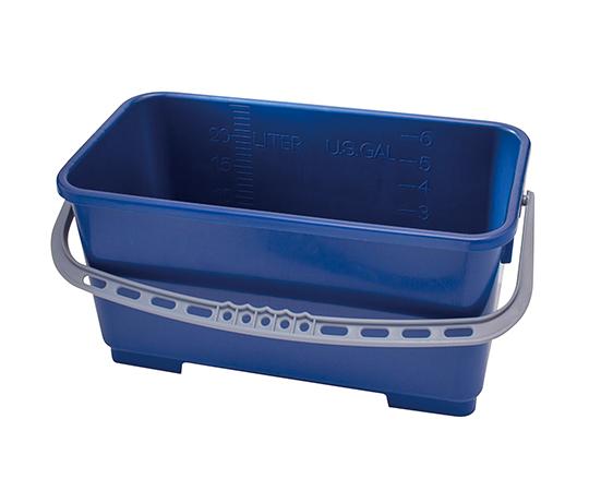 モップ用バケツ(ポリプロピレン製) 22L ブルー TX7061