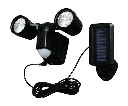 [取扱停止]LED防犯センサーライト ソーラー式 LSL-SBTN-200D