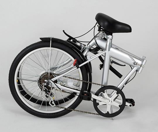 ノーパンクタイヤ自転車 変速6段 折りたたみ式 MG-G206N