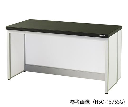 サイド実験台 (フレ-ム・アイランドタイプ) 1500×600×800 mm HSO-1560SG