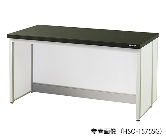 サイド実験台 (フレ-ム・アイランドタイプ) 1200×750×800 mm HSO-1275SG