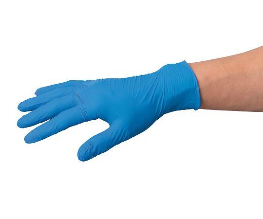 [受注停止]ニトリル極薄手袋 青