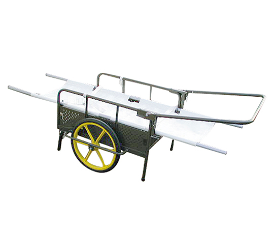 救急リヤカー (ノーパンクタイヤ) 担架付セット