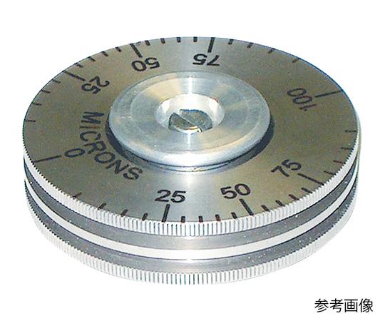 [取扱停止]ロータリー形ウェットフィルム膜厚計 0~100μm 1109/100