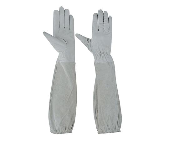 ロング革手袋 肘まで長~い革手袋 L