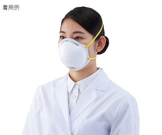[受注停止]使い捨て式防じんマスク (DS2) 排気弁無 1箱(20枚入)