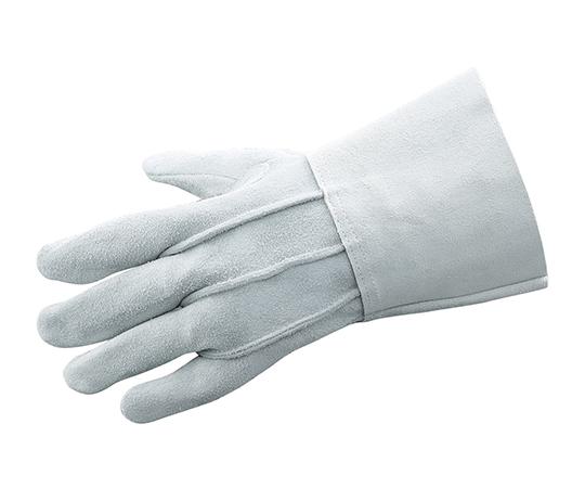 アズツール溶接用牛床革手袋 (背縫い) 280mm AT-WLG04
