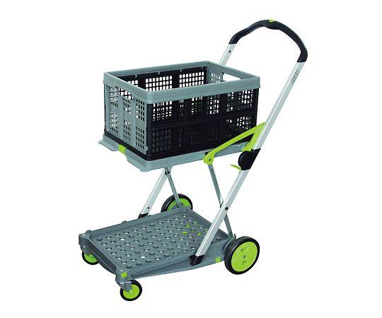 折り畳みコンテナ付き2段台車(Clax Mobil Trolley)  0040002