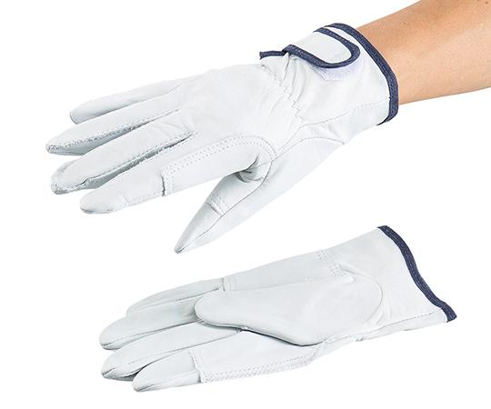 アズツール牛クレスト面ファスナー式手袋 AT-LG06