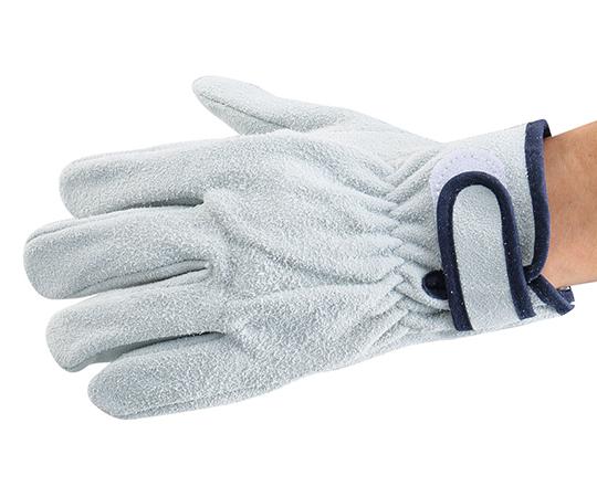 [取扱停止]アズツール牛床革面ファスナー式手袋 AT-LG03