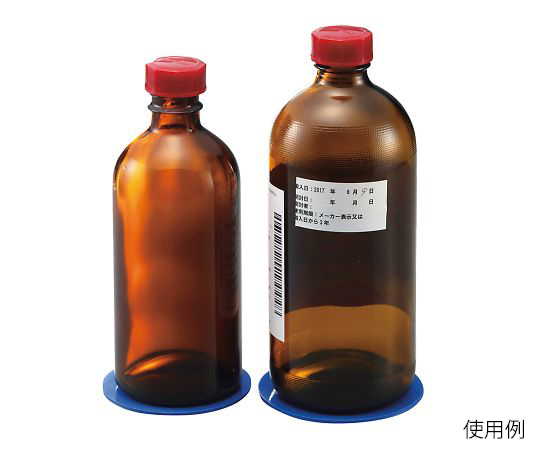 試薬瓶転倒防止シート 5枚入  S56